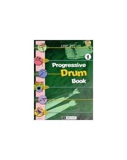 Progressive drum Book vol 1 Eddy ROS avec CD