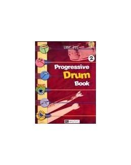 Progressive drum Book vol 2 Eddy ROS avec CD
