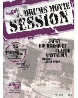 Drums  movie session Bourbasquet/Gastaldin avec CD