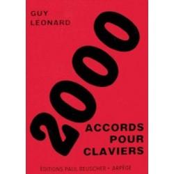 2000 accords pour claviers Guy Leonard