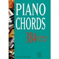 Piano chords 384 positions at first sight Bendinelli