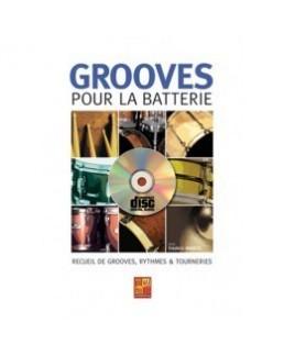 Grooves pour la batterie  MARCEL CD