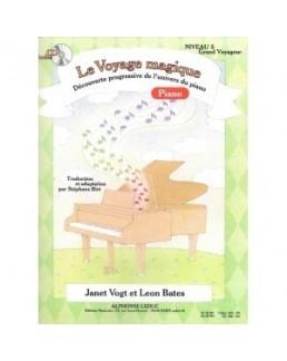 Le voyage magique niveau 5 grand voyageur piano avec CD