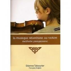 Méthode irlandaise au violon TABOURIER avec CD