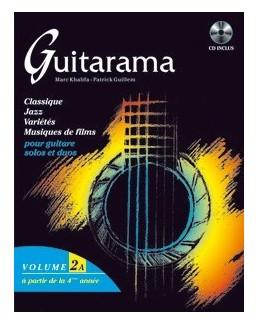 Guitarama vol 2A avec CD