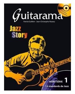 Guitarama jazz story hors série 1 avec CD