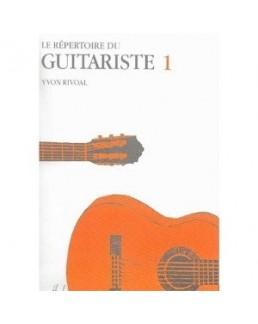 Le répertoire du guitariste RIVOAL vol 1