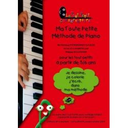 Ma toute petite méthode de piano PSTROKONSKY-GAUCHE
