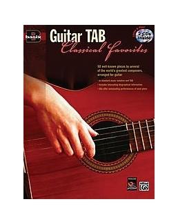 Guitar tab classical favorites avec  2 CD