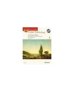 Romantic guitar anthology vol 1 avec CD