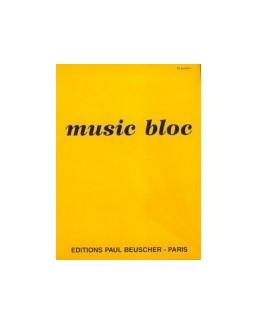 Bloc musique 16 portées