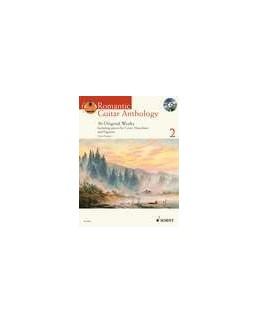 Romantic guitar anthology vol 2 avec CD