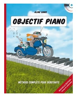 Objectif piano Aline SANS avec CD