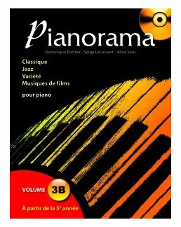 Pianorama 3 B avec CD