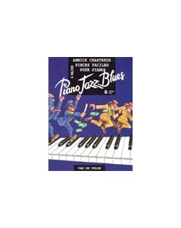 Piano jazz blues Annick Chartreux 4 mains