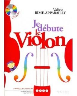 Je débute le violon Bime-Apparailly avec CD