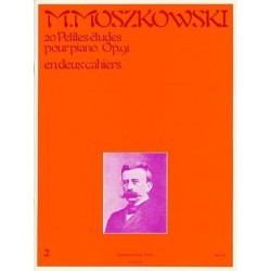 Moszkowski 20 petites études opus 91 2ème cahier
