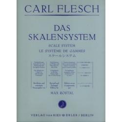 Carl Flesch le système des gammes violon