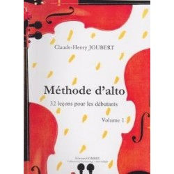 Méthode d'alto Claude-Henri Joubert vol 1