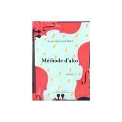 Méthode d'alto Claude-Henri Joubert vol 2