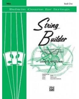 Applebaum string builder book 1 alto