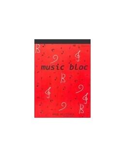 Bloc musique 12 portées