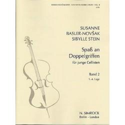 Spass an Doppelgriffen (le plaisir des doubles cordes) Basler Novsak/Stein vol 2
