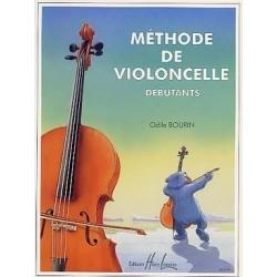 Méthode de violoncelle Bourin débutants