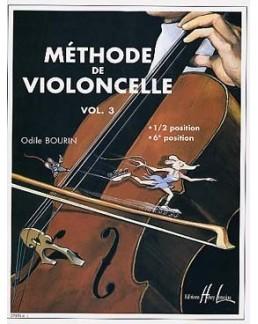 Méthode de violoncelle Bourin vol 3