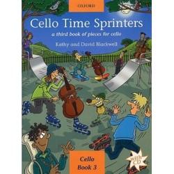 Cello time sprinters livre 3 avec CD Blackwell