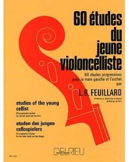Feuillard 60 études du jeune violoncelliste