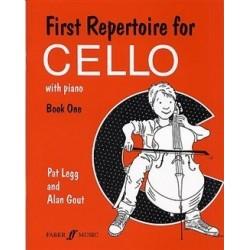 First repertoire for cello et piano vol 1