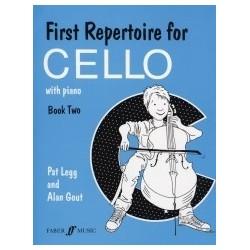 First repertoire for cello et piano book 2