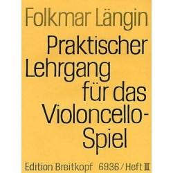 Längin Folkmar violoncelle volume 3
