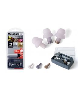 Protection Music Safe Pro, 3 bouchons, 3 filtres, 1 étui