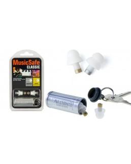 Protections Music Safe Classic, 2 bouchons, 2 filtres, 1 étui