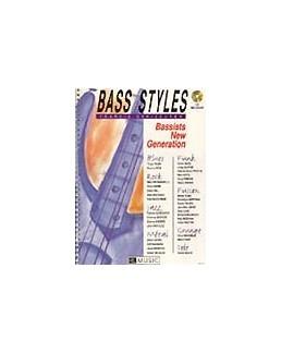 "Bass styles Darizcuren avec CD ""Bassists new generation"""