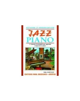 Jazz piano méthode d'improvisation Didier MARCHAND