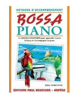 Bossa piano Méthode d'accompagnement Didier MARCHAND