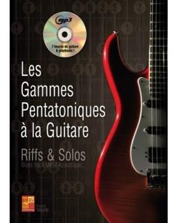 Les gammes pentatoniques à la guitare Bruno Tauzin CD MP3
