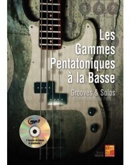 Les gammes pentatoniques à la basse Bruno Tauzin CD MP3
