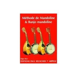 Méthode mandoline et banjo mandoline Edgar Bara