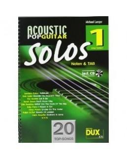 Acoustic Pop Guitar solos Michael Langer avec CD