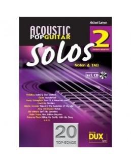 Acoustic Pop Guitar solos 2 Michael Langer avec CD