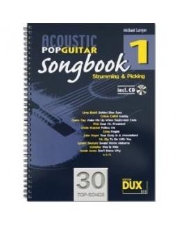 Acoustic pop guitar songbook 1 avec CDN Michael Langer
