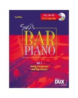 Susi's bar piano avec CD live trio vol 1 Susi Weiss