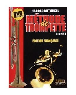 Méthode de trompette Harold MITCHELL livre 1 nouvelle édition avec DVD