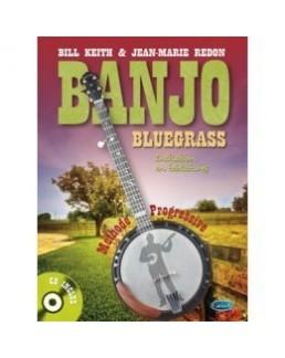 Méthode banjo bluegrass Bill Keith et Jean-Marie Redon  avec CD