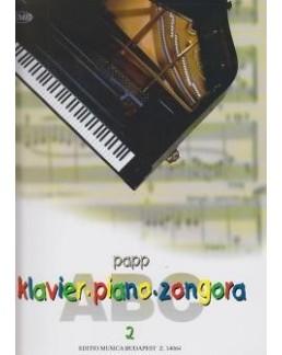 Abc du piano Lajos Papp vol 2