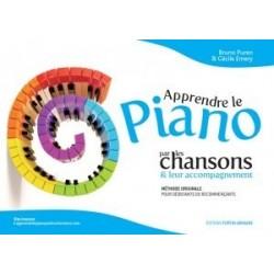Apprendre le piano par les chansons Bruno Puren & Cécile Emery